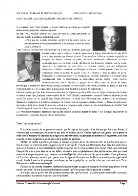 Jacques Maritain les points sur les i