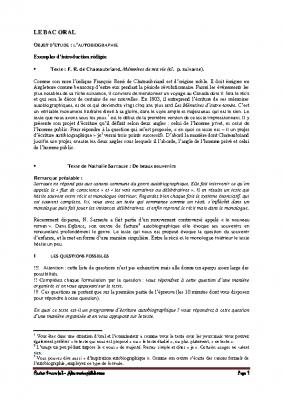 Memento. les questions possibles pdf