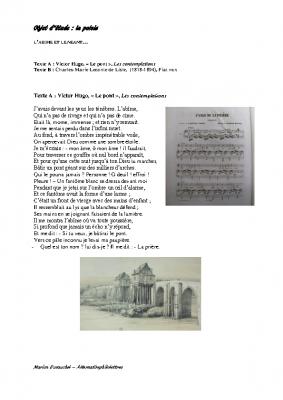 L'abîme et le néant V Hugo Leconte de Lisle