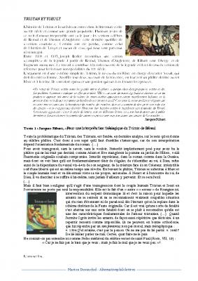 De Tristan et Yseult au Lai du chèvrefeuille