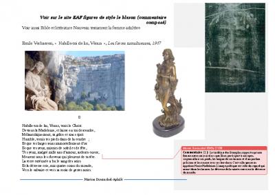 Emile Verhaeren Marie Madeleine – Habille-toi de lin