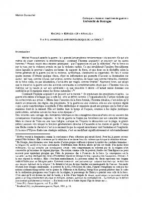Actes et machines MCF