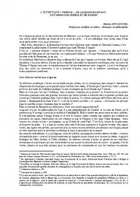 L'esthétique de Jacques Maritain résumé.docx 1