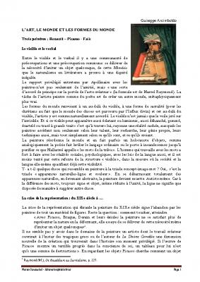 Le visible et le verbal – trois peintres Rouault Picasso Falk