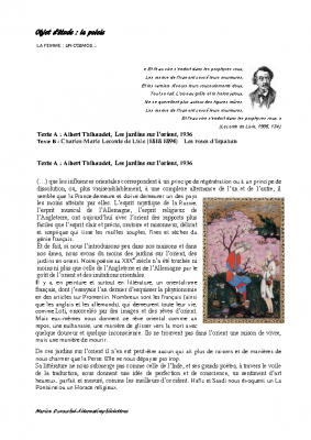 Les roses d'Ispahan dossier complet