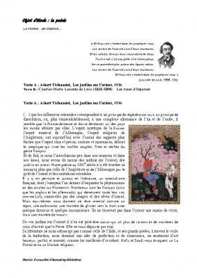 Les roses d'Ispahan dossier complet