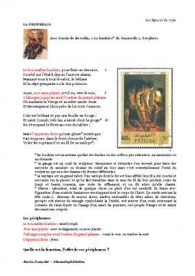 La périphrase – José Maria de Hérédia