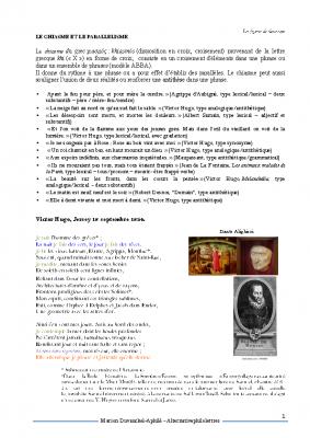 Le chiasme V. Hugo