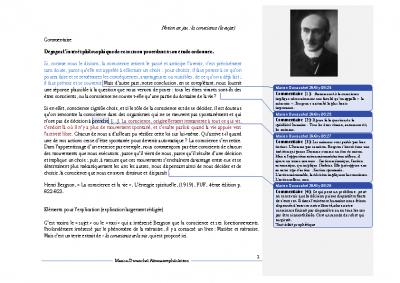Bergson la conscience et la vie pdf