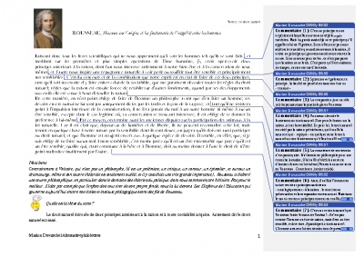 Rousseau le droit naturel