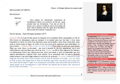 Spinoza l'Etat