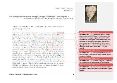 Schopenhauer l'histoire (2)