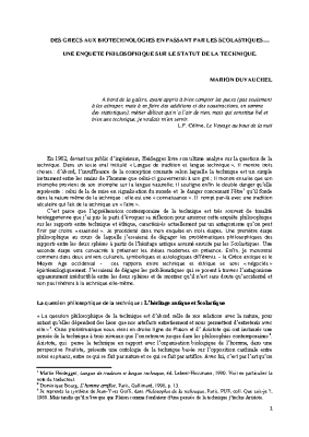 la-technique-un-enquête-philosophique