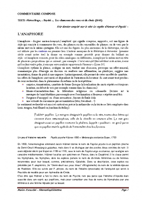 V Hugo -L'anaphore – pdf