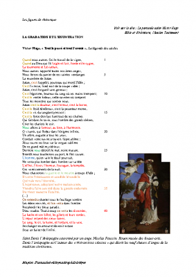 V Hugo – L'énumération-et-la-gradation
